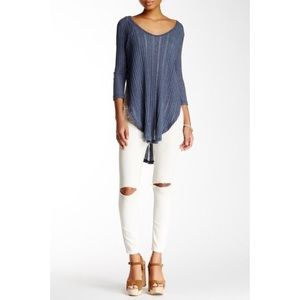 🎀 3 FOR $60 • Free People • Astoria Ribbed Tee
